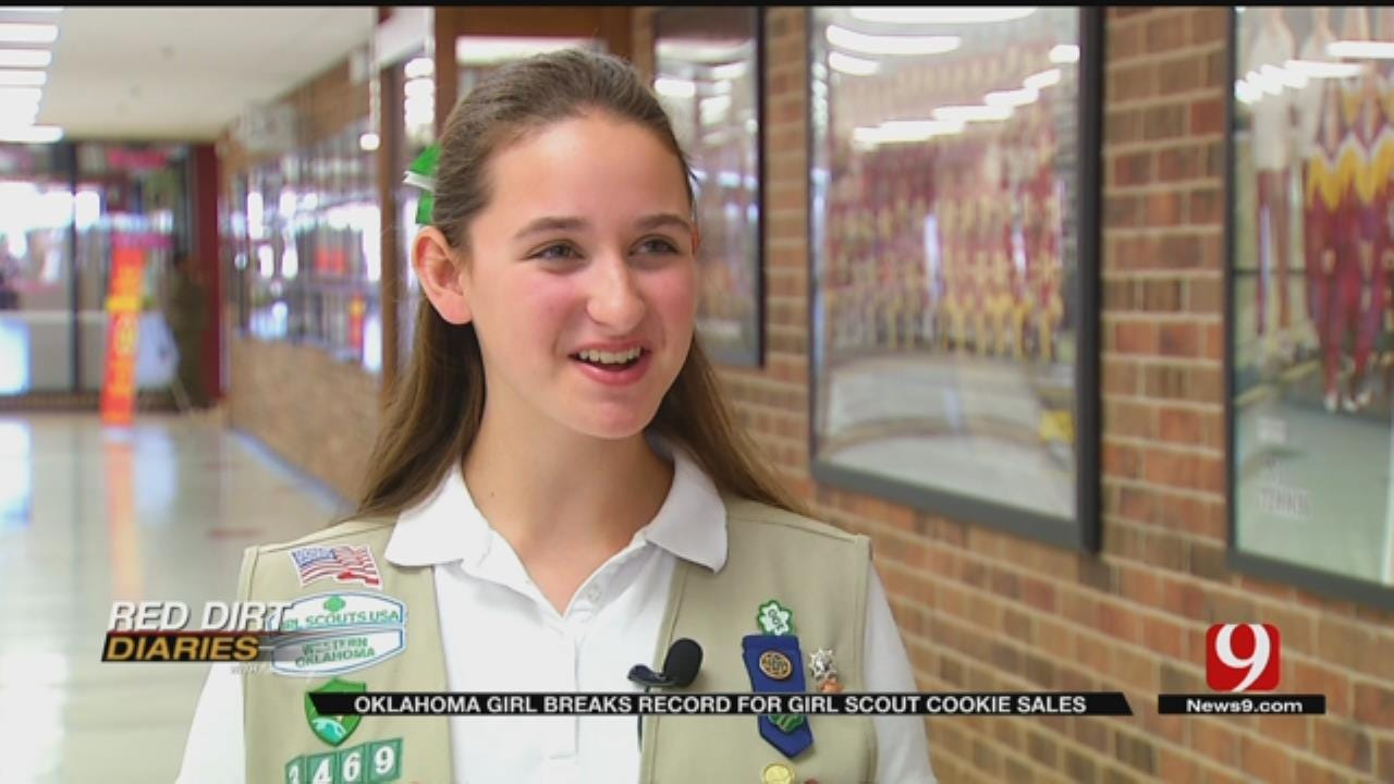 Red Dirt Diaries: Metro Girl Scout Is A Cookie Closer