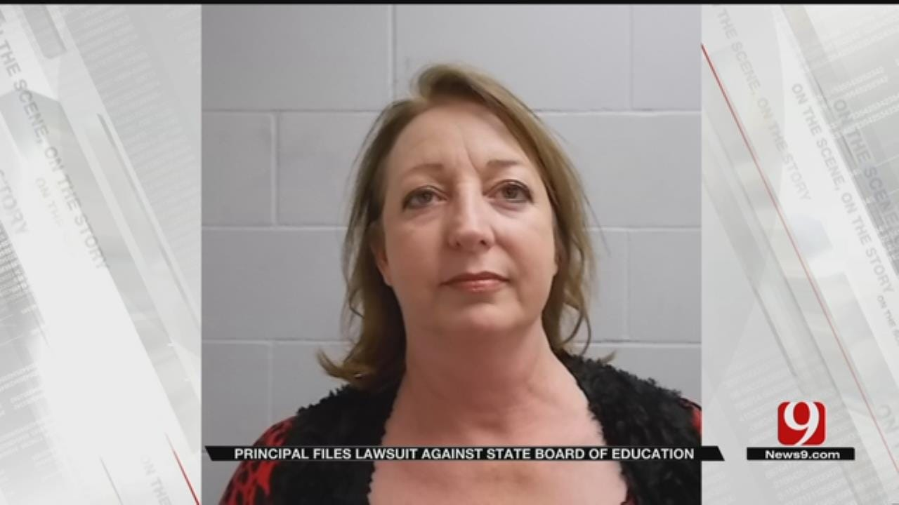 Perry Principal Files Suit Against State Board Of Education