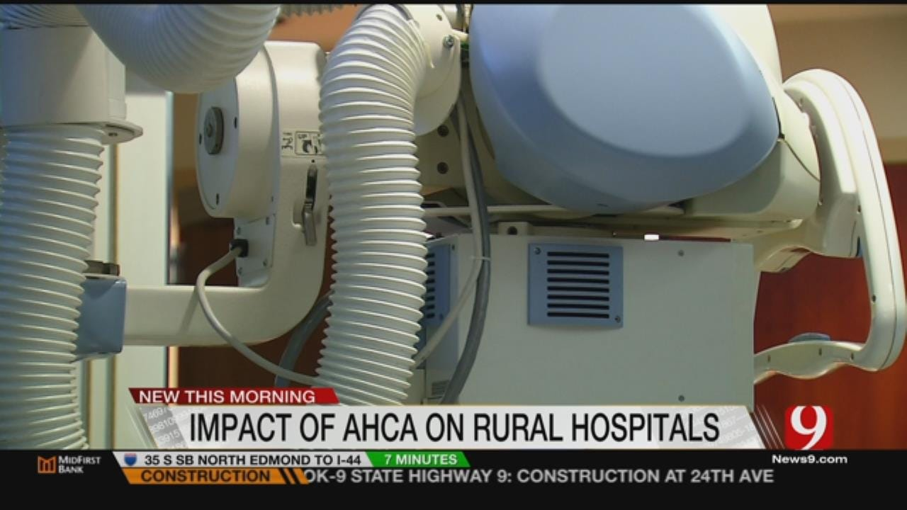 Grave Concerns Over AHCA Impact On Rural Hospitals