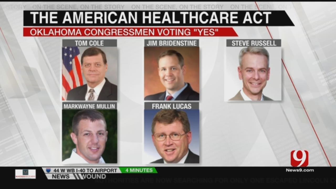 All OK Congressmen In Favor Of AHCA