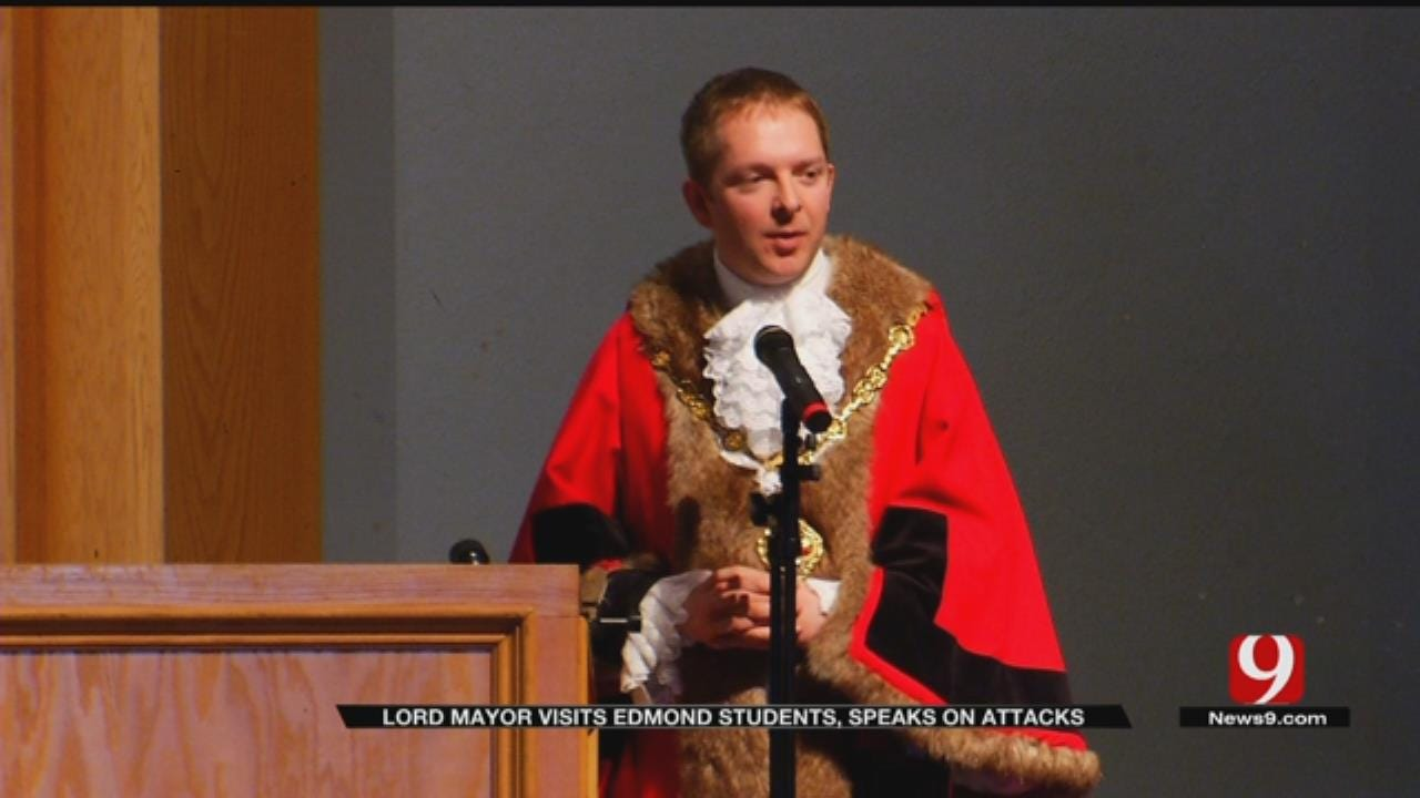 Lord Mayor Visits Edmond Students, Speaks Out On London Attack