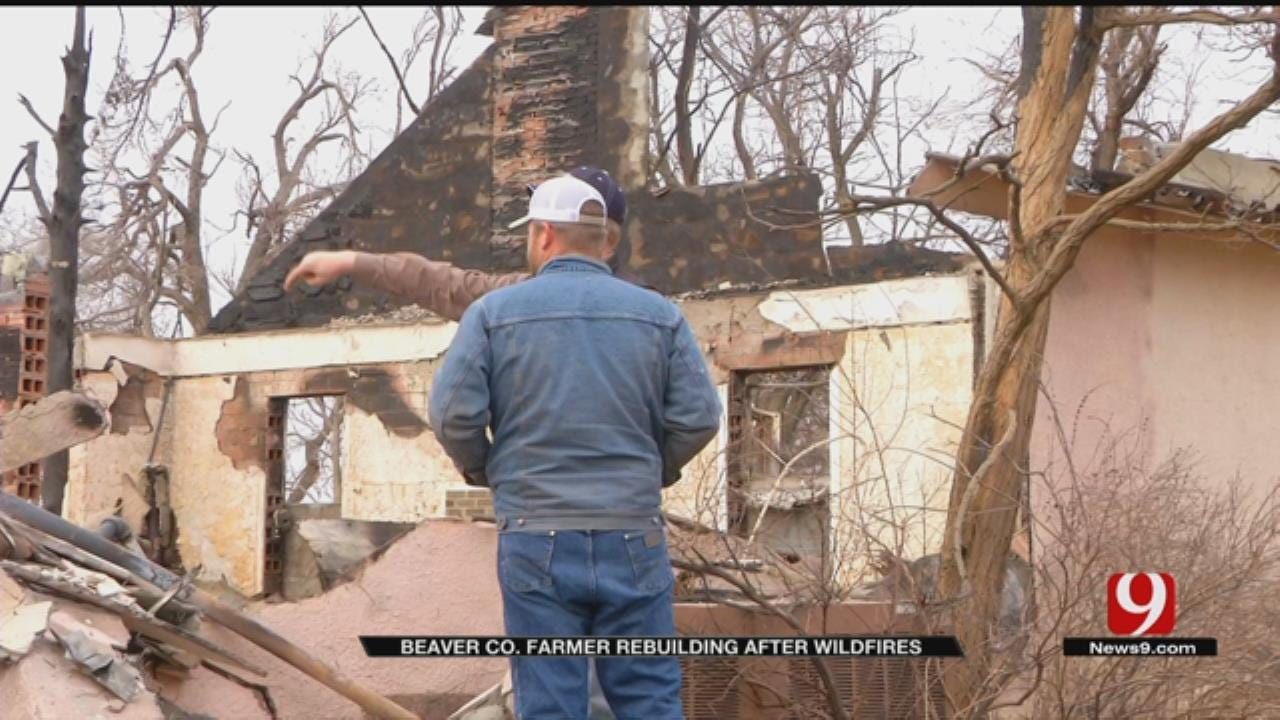 Beaver Co. Firefighter, Farmer Rebuilding After Wildfires