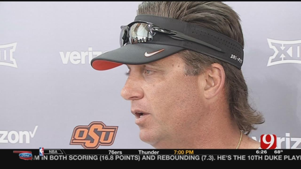 OSU Football Continues Spring Practice