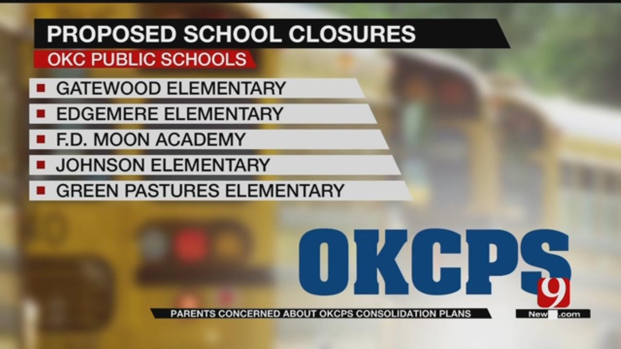 Parents Concerned About OKCPS Consolidation Plans