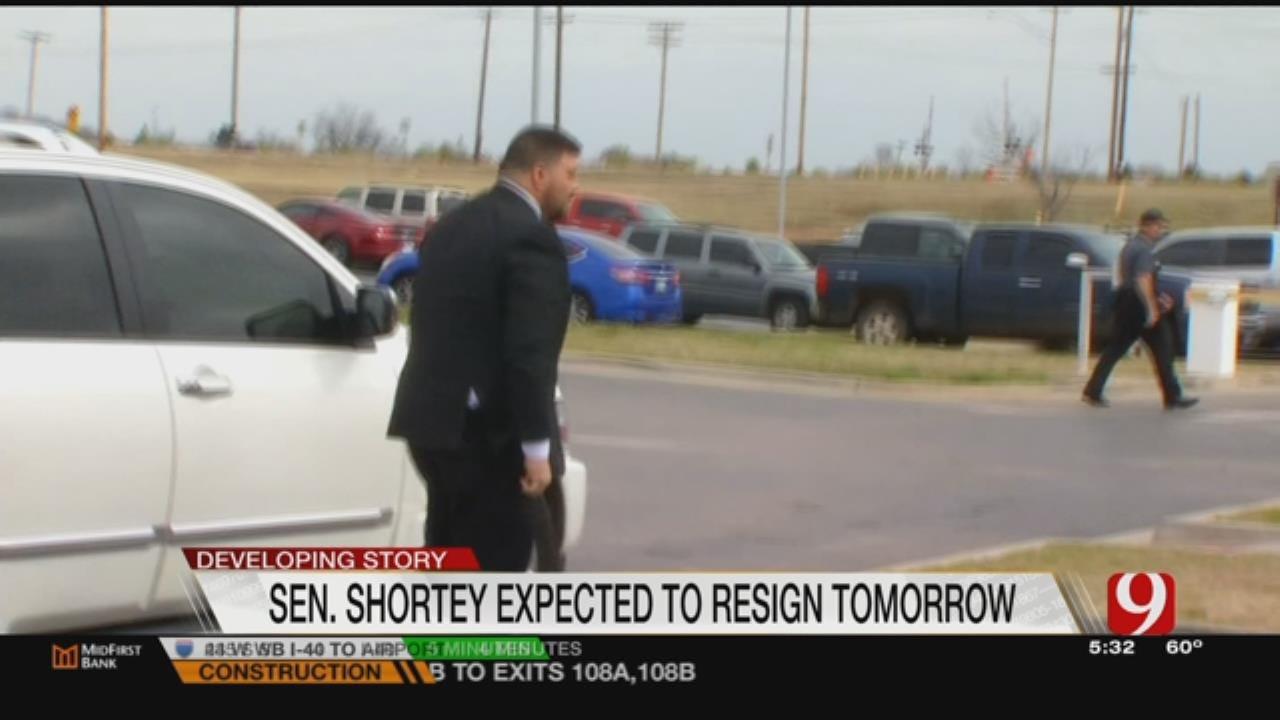 Shortey's Resignation Expected Wednesday