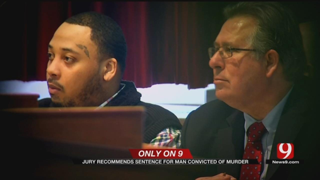 Jury Recommends Sentence For Man Convicted Of Murder