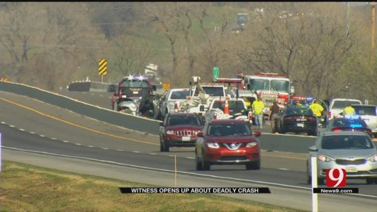 Passerby Helps Protect Young Survivor Of Fatal Turnpike Crash