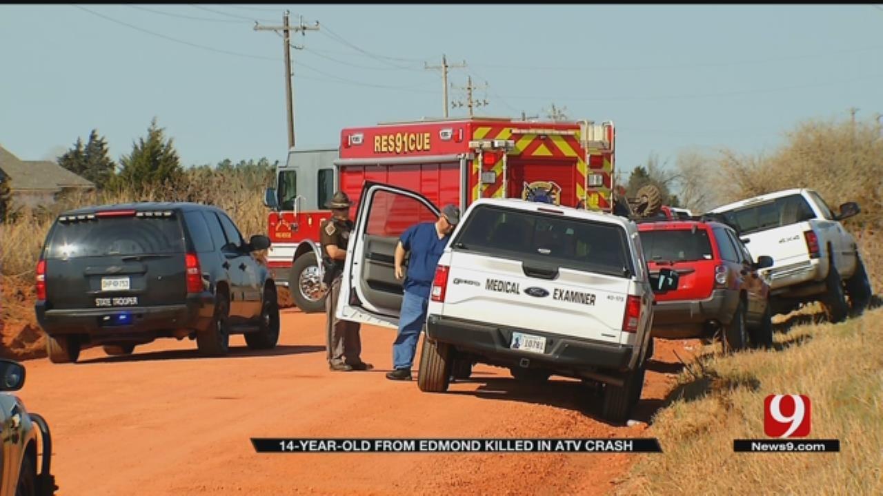 Boy, 14, Killed In Logan County ATV Crash