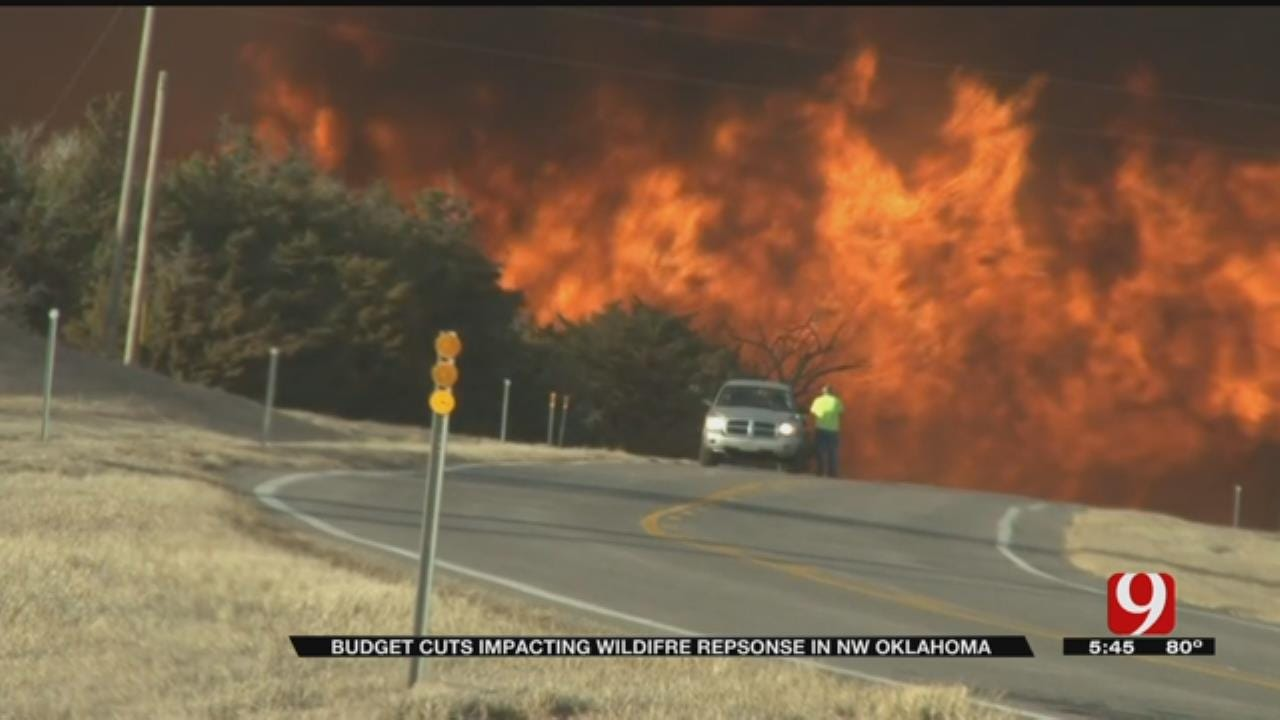 Budget Cuts Impacting Wildfire Response In NW Oklahoma