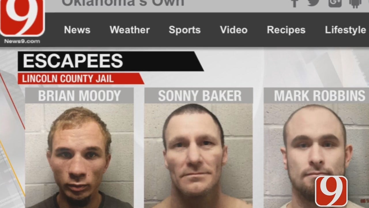 WEB EXTRA: Lincoln Co. Sheriff Launches Statewide Search For Escaped Inmates