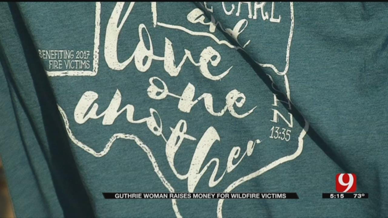Guthrie Woman Raises $27K For Wildfire Victims
