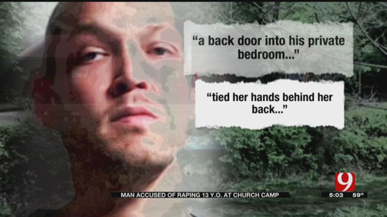 Teen Allegedly Raped At Oklahoma Church Camp