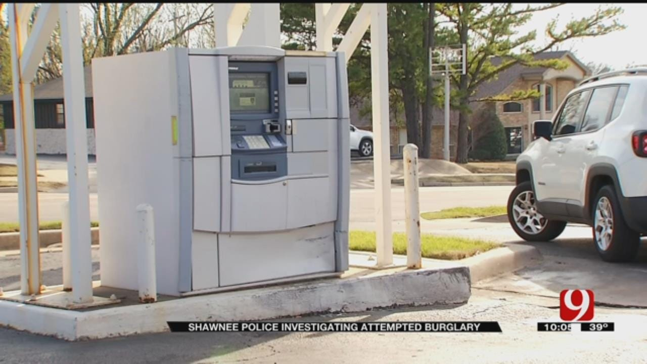 Shawnee Police Release Surveillance Video Of Would-Be Thieves