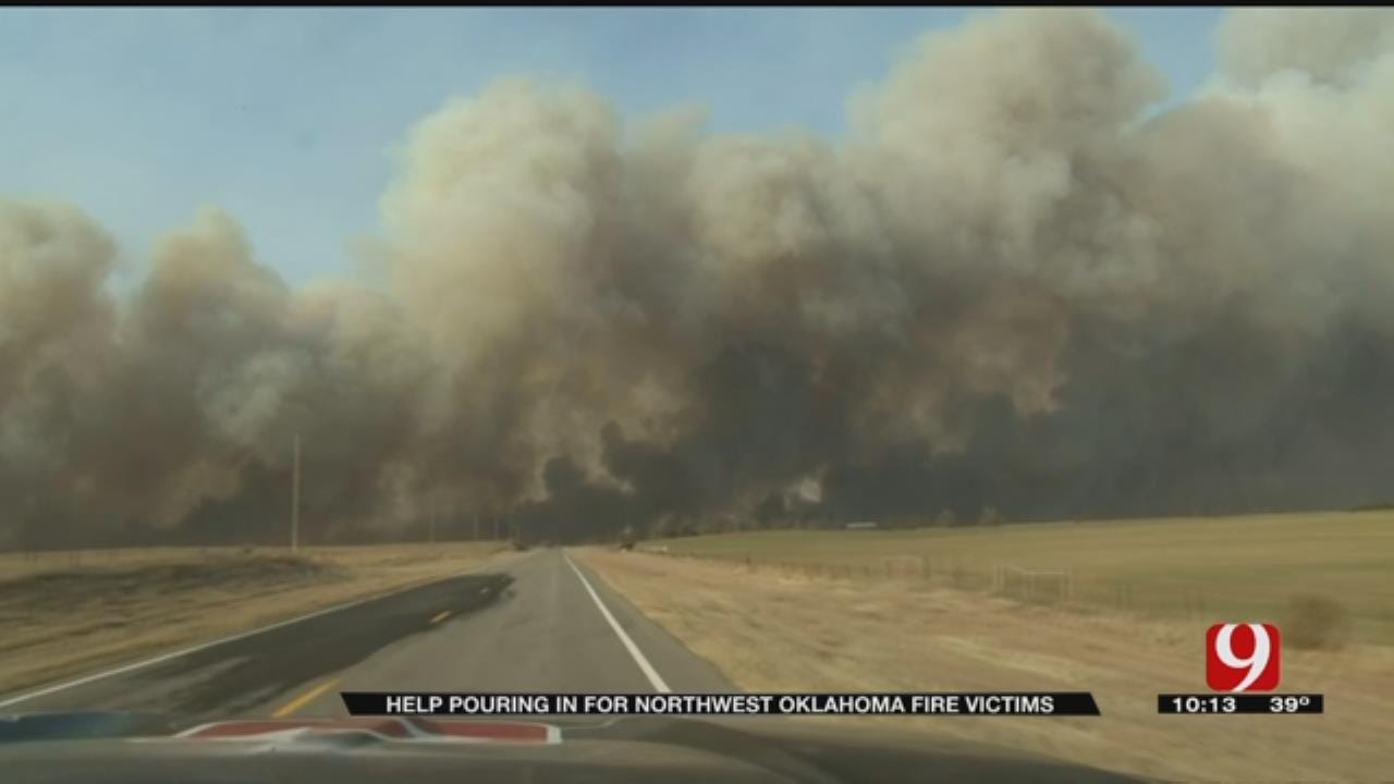 Aid Expanding For Wildfire Recovery Efforts