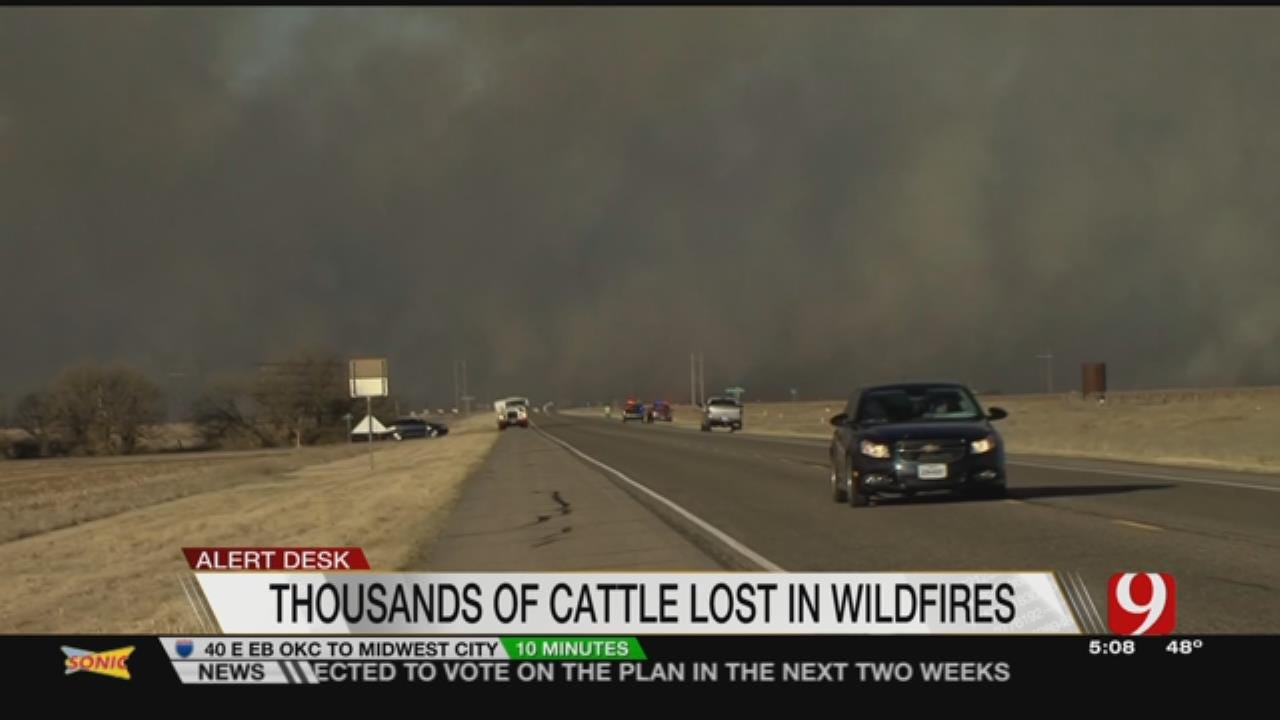Wildfires Affecting Livestock And Ranchers