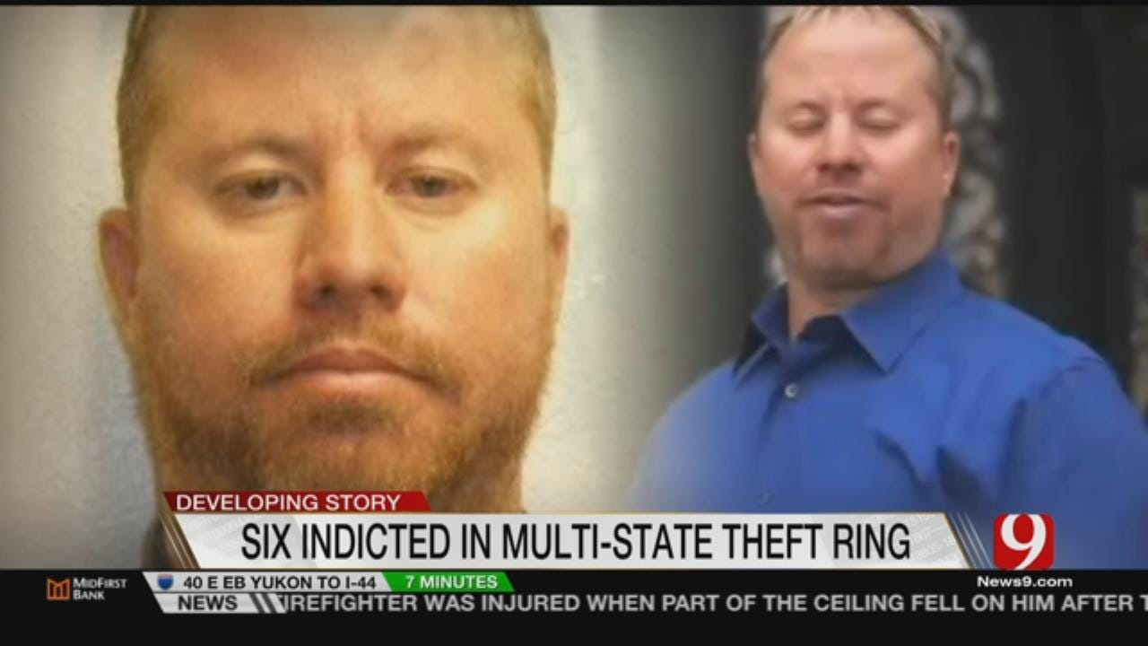 6 Oklahomans Indicted In Multi-State Theft Ring