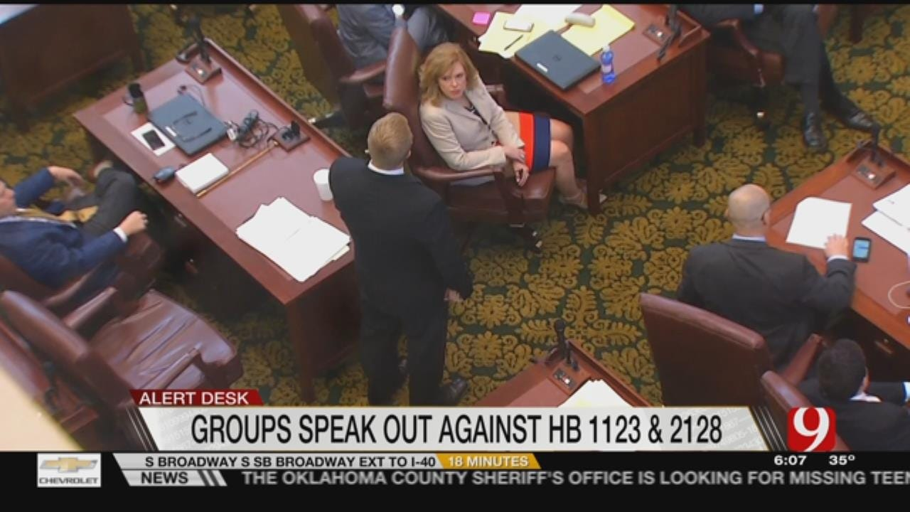 ACLU, Others To Visit Capitol Today To Oppose HBs 1123, 2128