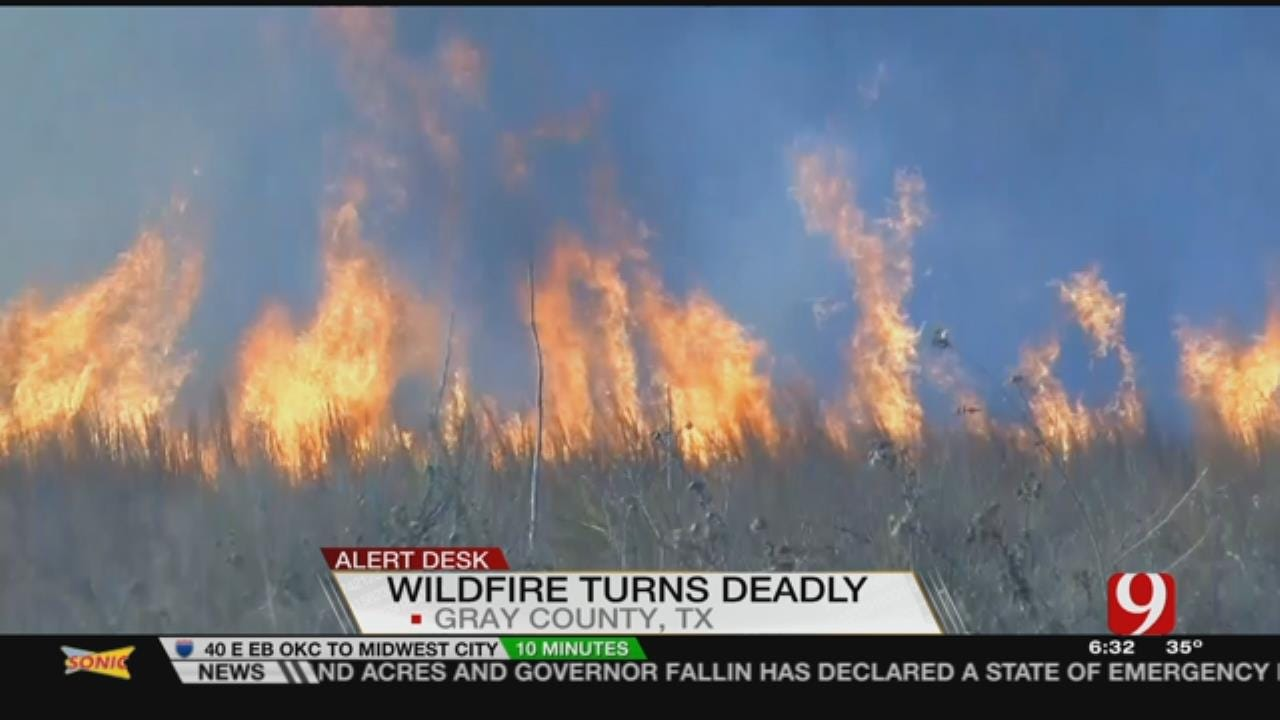 Ways To Donate To Help NW OK Wildfire Victims