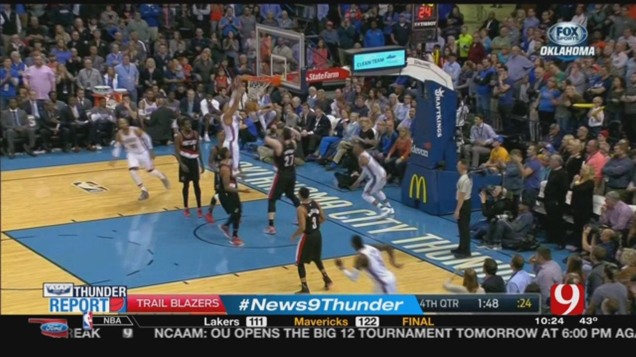 Thunder Loses Fourth In A Row Despite Westbrook's Career-High 58 Points