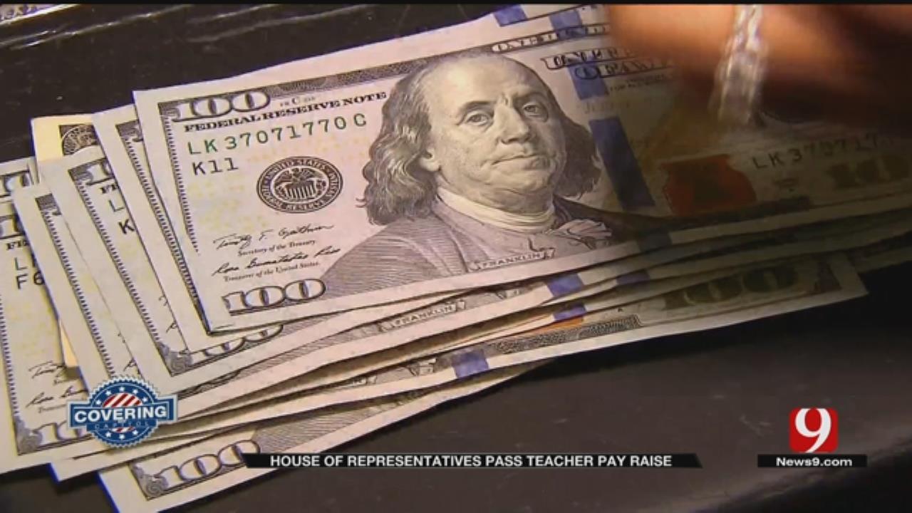 State House Of Representatives Pass Bill For Teacher Pay Raises