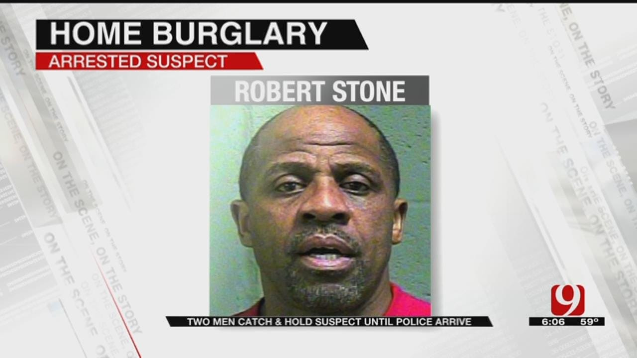 OKC Police: Burglar Held By Home's Occupants, Arrested On Multiple Charges
