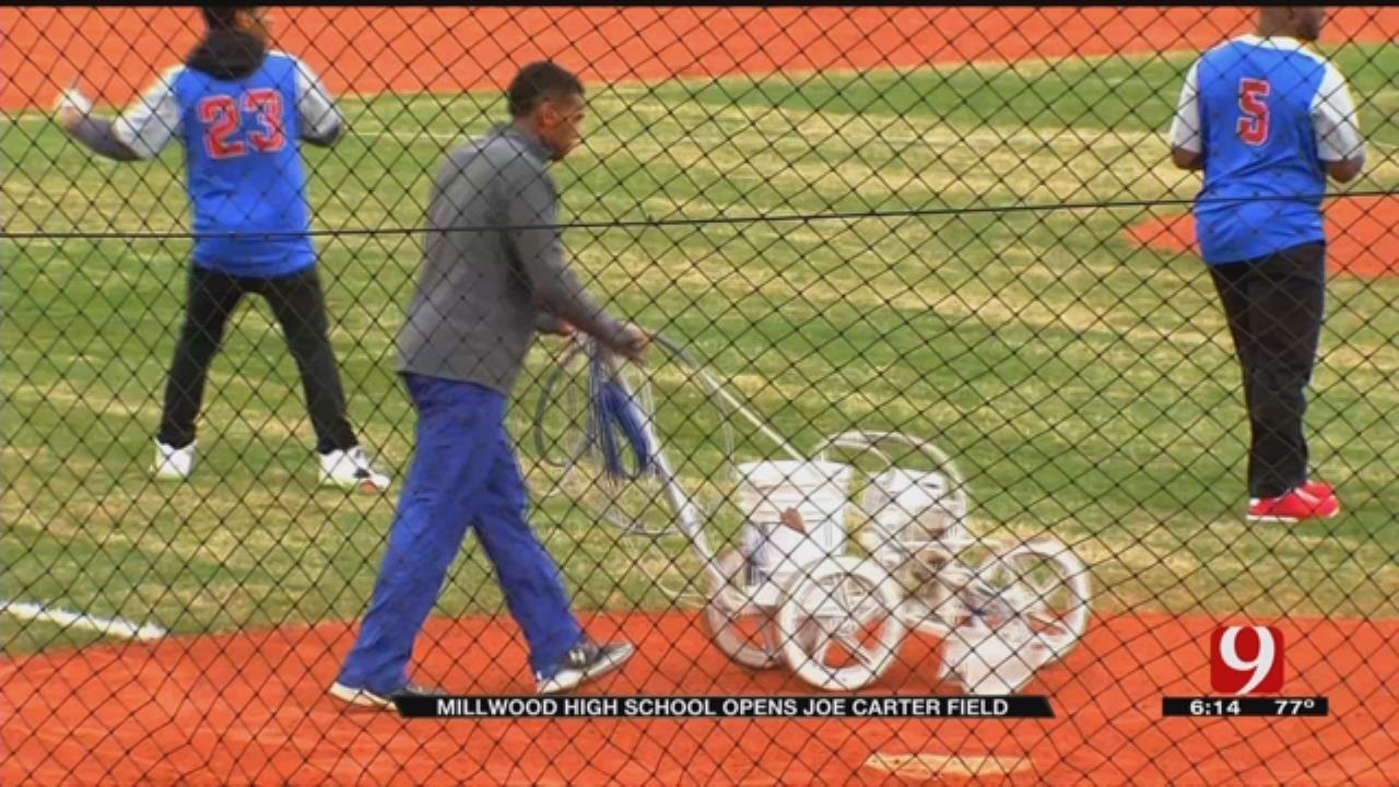 Millwood High School Opens Joe Carter Field
