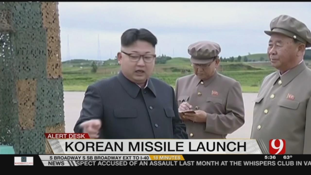 North Korea Fires Ballistic Missiles Into Ocean, South Korea's Military Says