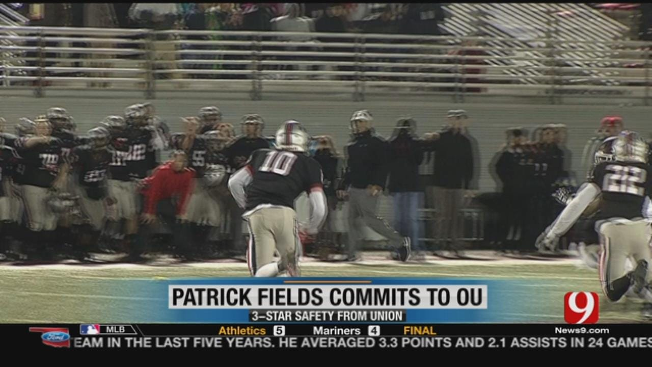 Union's Fields Commits To Sooners