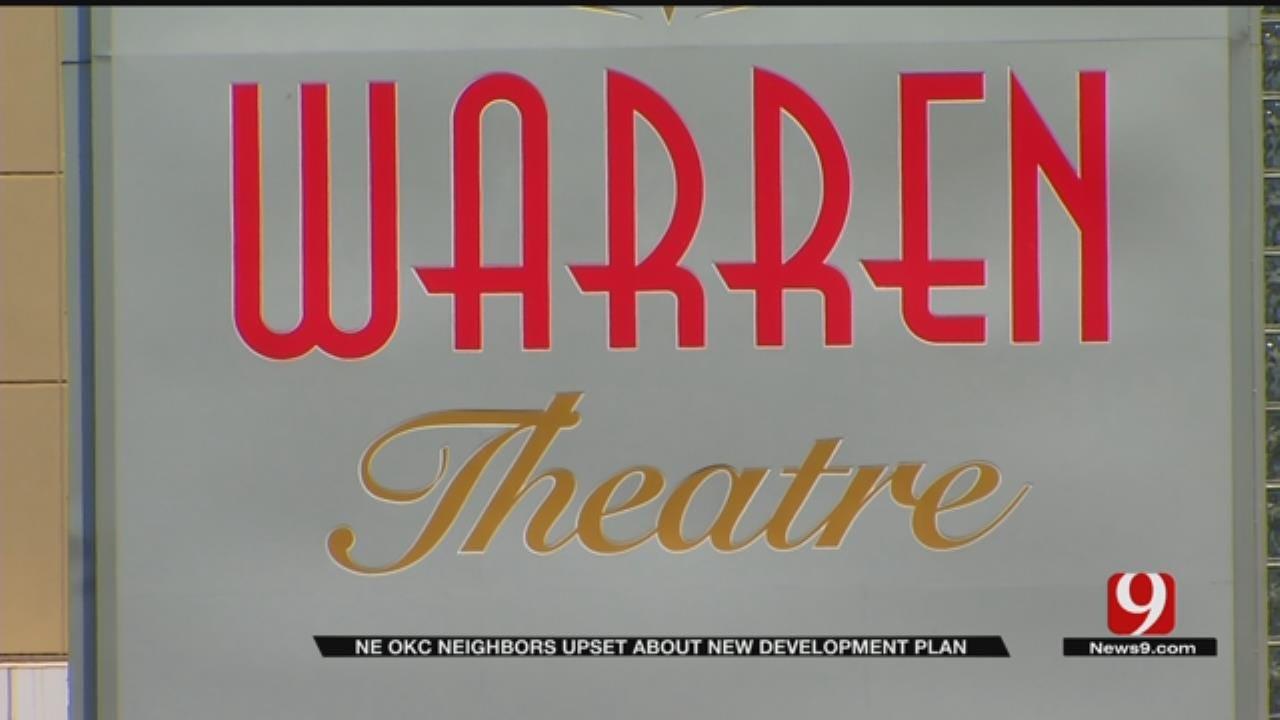 Neighbors Vow To Fight Warren Theatre, Retail Stores Plan In NE OKC