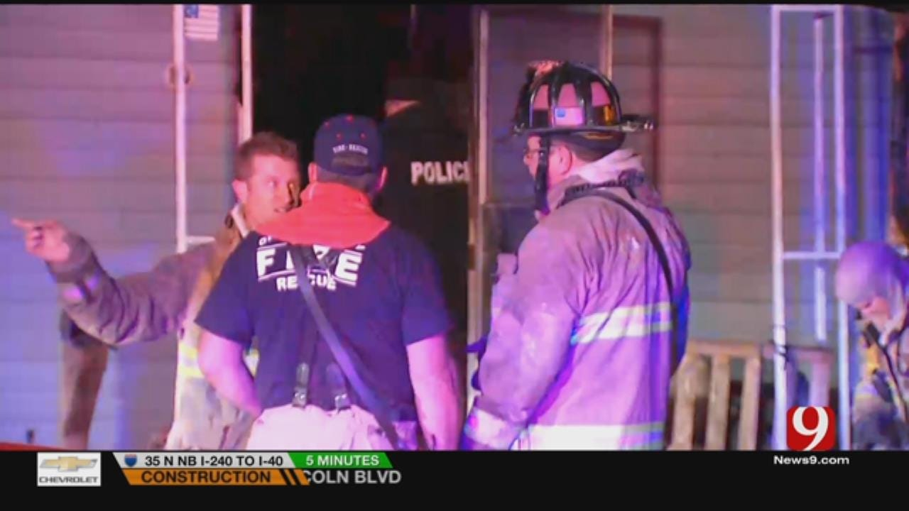 Crews Douse Early Morning House Fire In Valley Brook