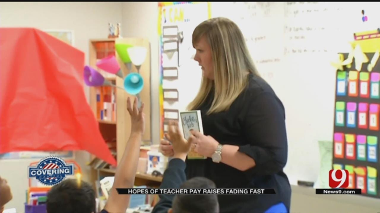 Some Lawmakers Believe Hope For Teacher Pay Raises Fading Fast