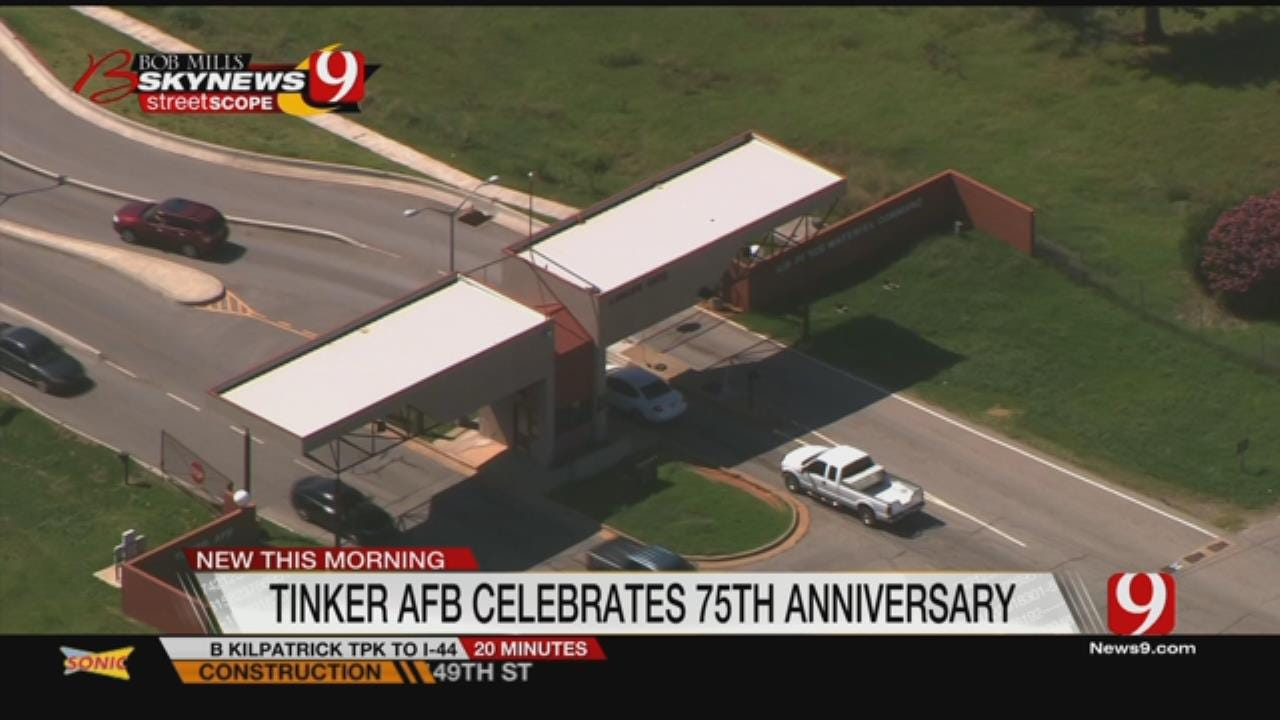 Tinker Celebrating 75 Years All Year Long