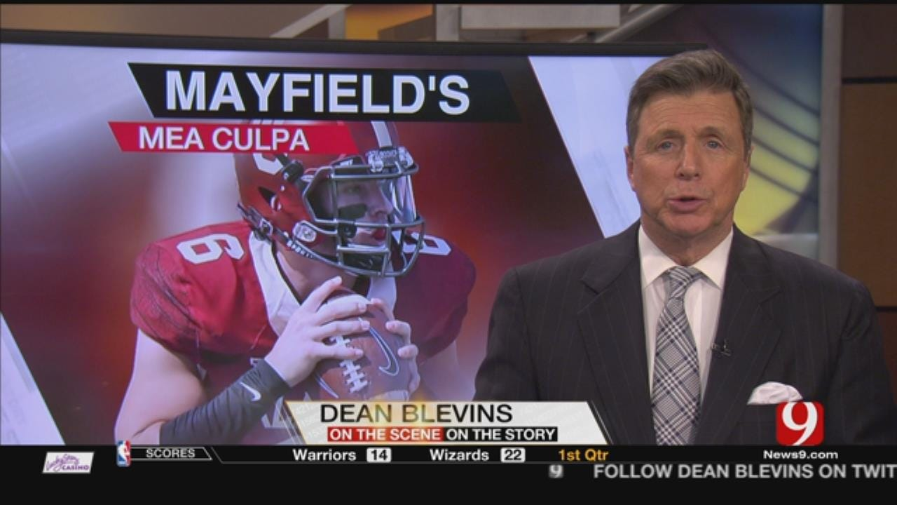 Baker Mayfield Issues Apology In Wake Of Arrest