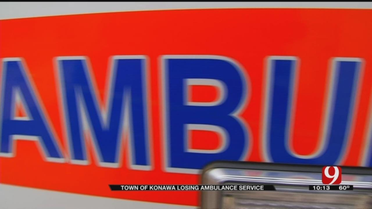 Town Of Konawa Losing Its Ambulance Service