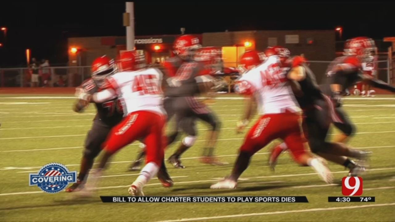 Bill To Allow Okla. Charter Students To Play Sports Dead In Committee