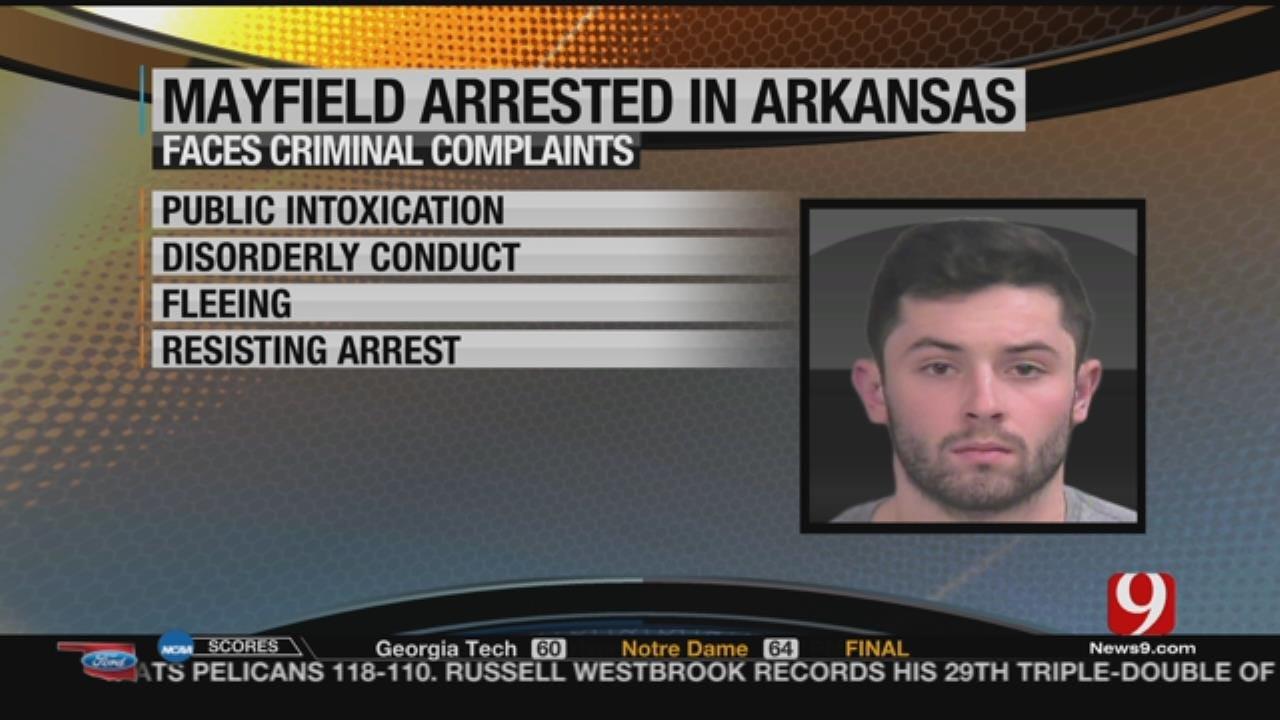 Mayfield Arrested In Arkansas