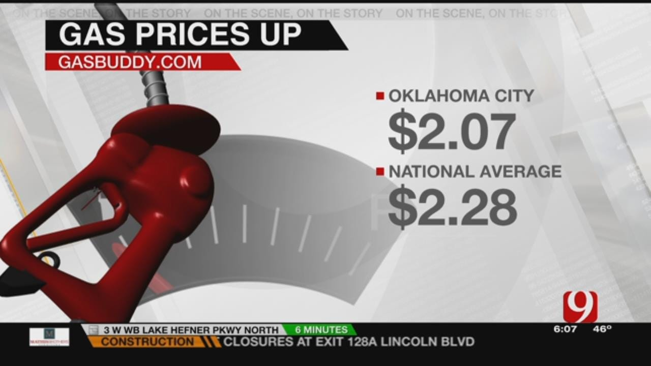 OK Gas Prices On The Uptick, Still Lower Than National Average