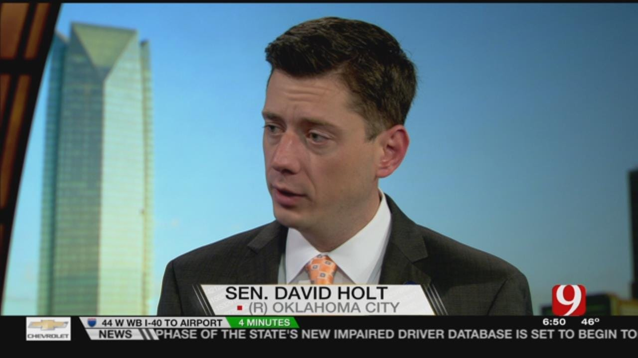 Sen. Holt To Run For OKC Mayor