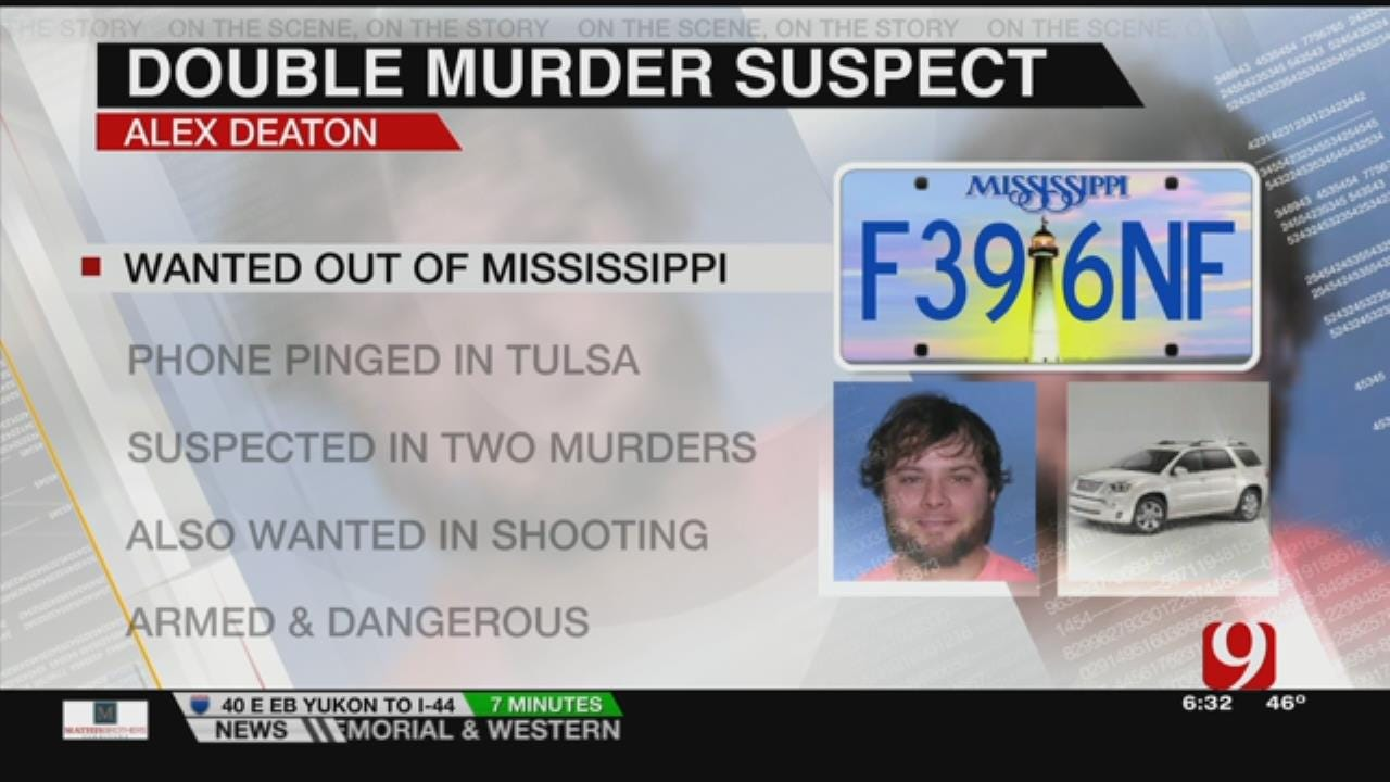 Nationwide Search For Miss. Murder Suspect Comes To OK