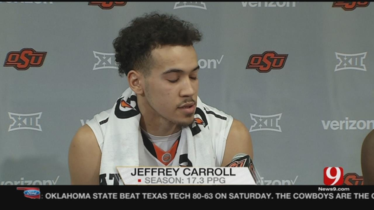 OSU Hoops: Cowboys Pick Up Win Over Texas Tech On Saturday