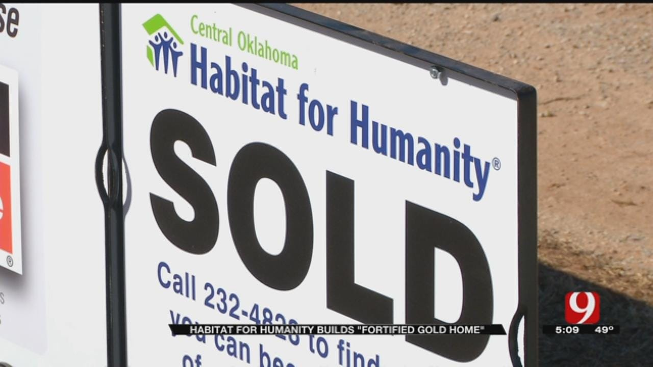 Habitat For Humanity Building Weather-Safe Homes In Oklahoma