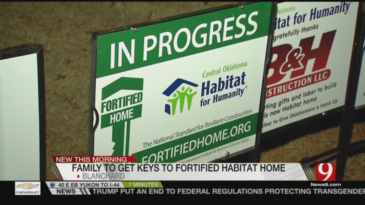 Blanchard Family Gifted FORTIFIED Home From Habitat For Humanity