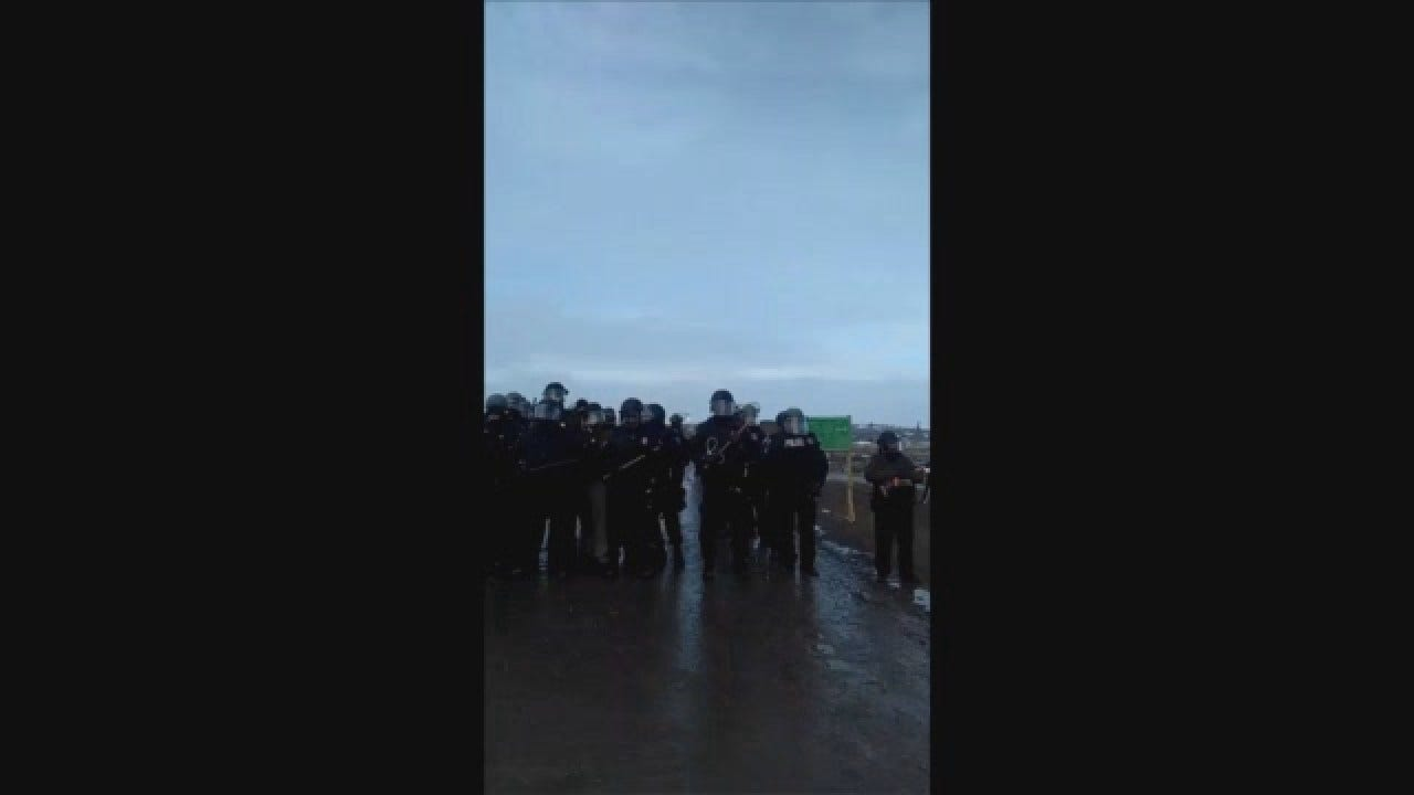 Eric Poemoceah Arrested On Facebook Live At DAPL Protest