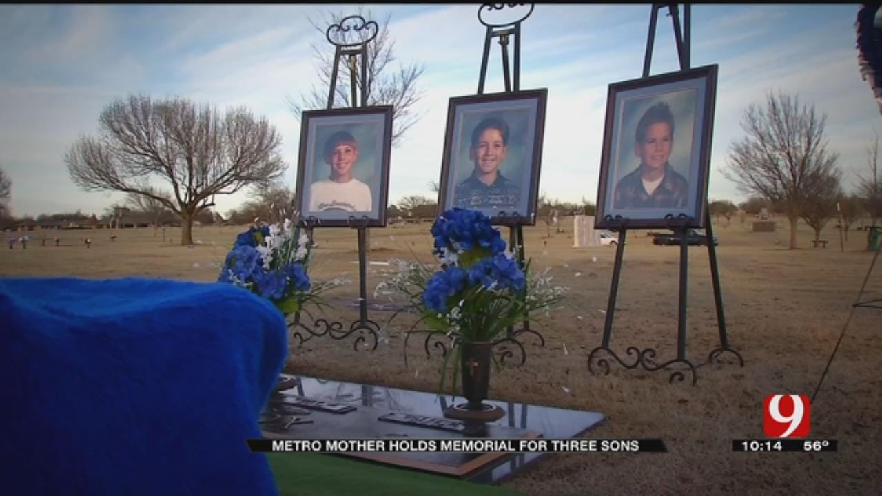Metro Mother Holds Memorial For Three Sons