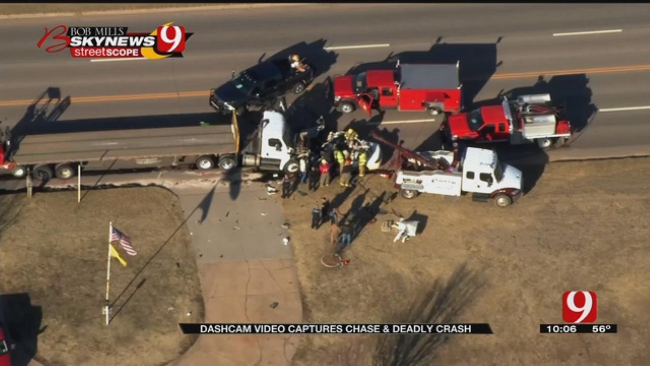 OBN Dashcam Shows Pursuit, Deadly Crash