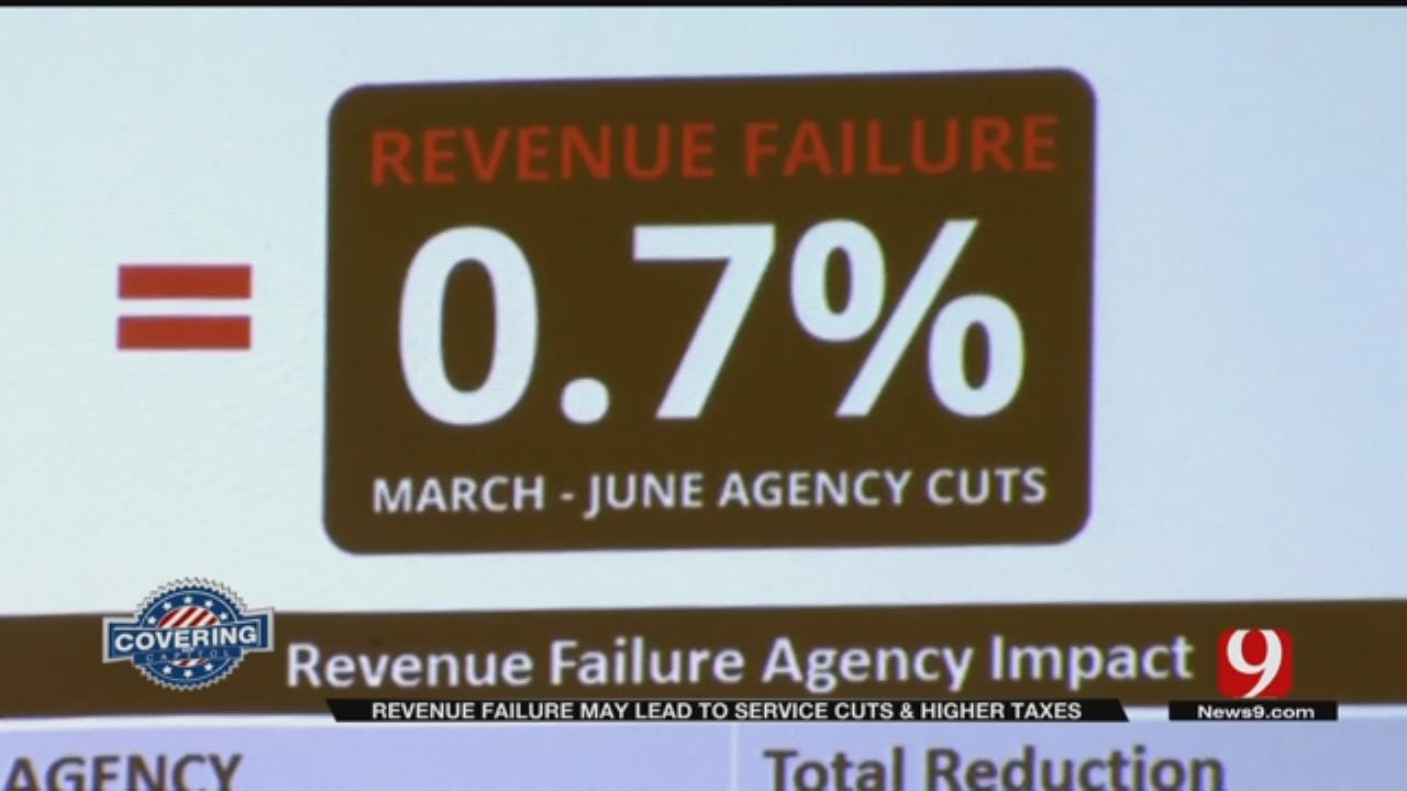 Revenue Failure Leads To More Cuts In State