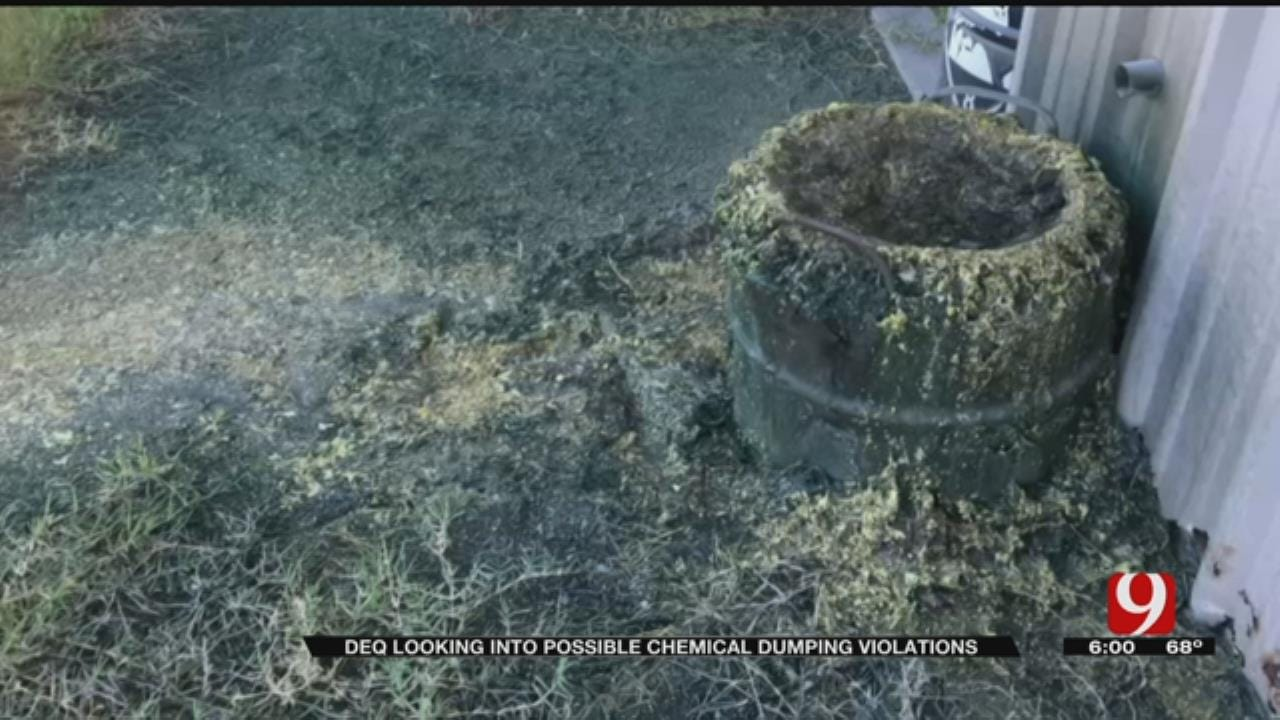 DEQ Looking Into Possible Chemical Dumping Violations In Wellston