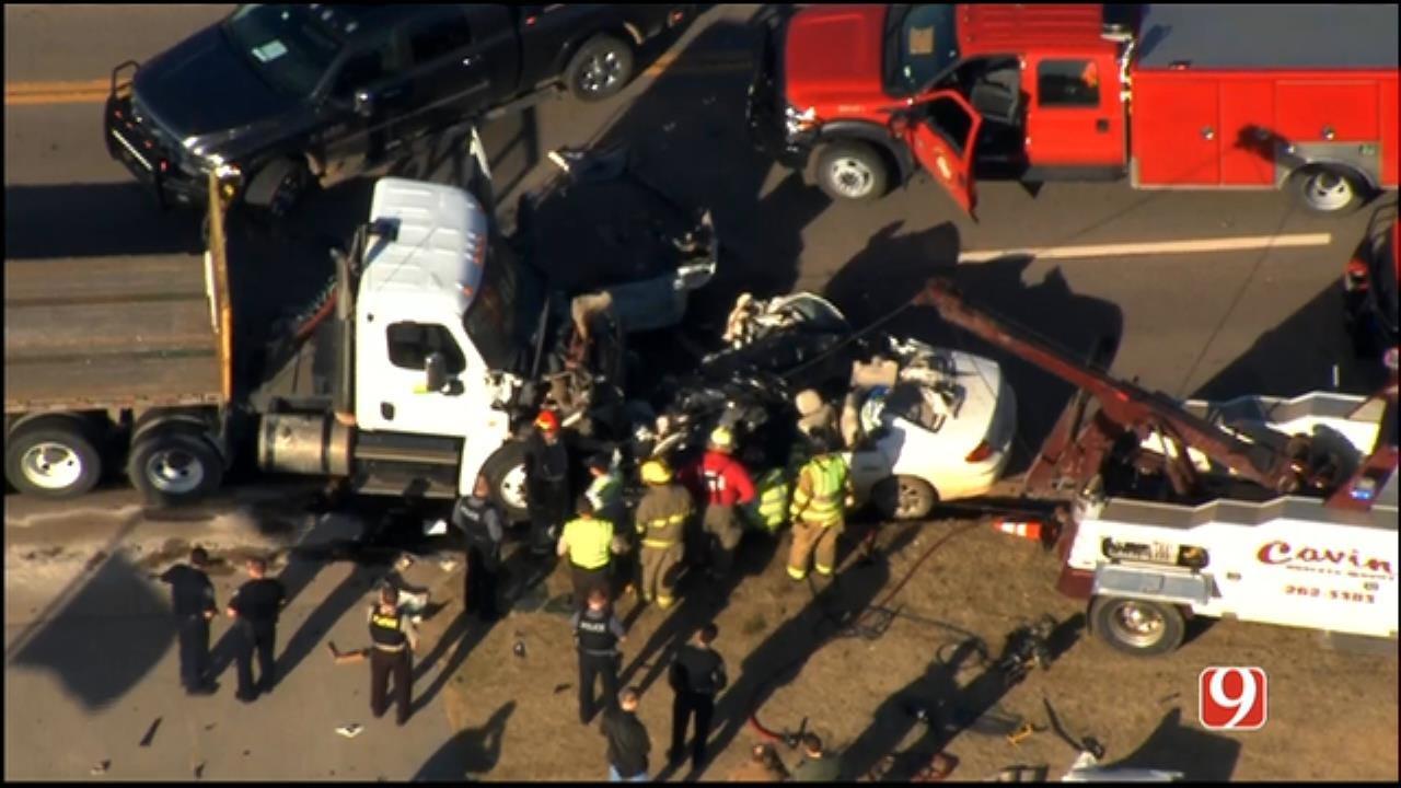 1 Killed In El Reno Crash Following Pursuit