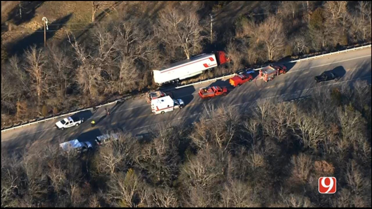 WEB EXTRA: Injury Crash Involving Tractor-Trailer Reported In Pott. Co.