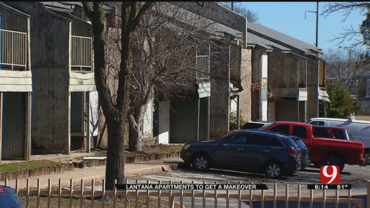 OKC's Lantana Apartments To Be Revived